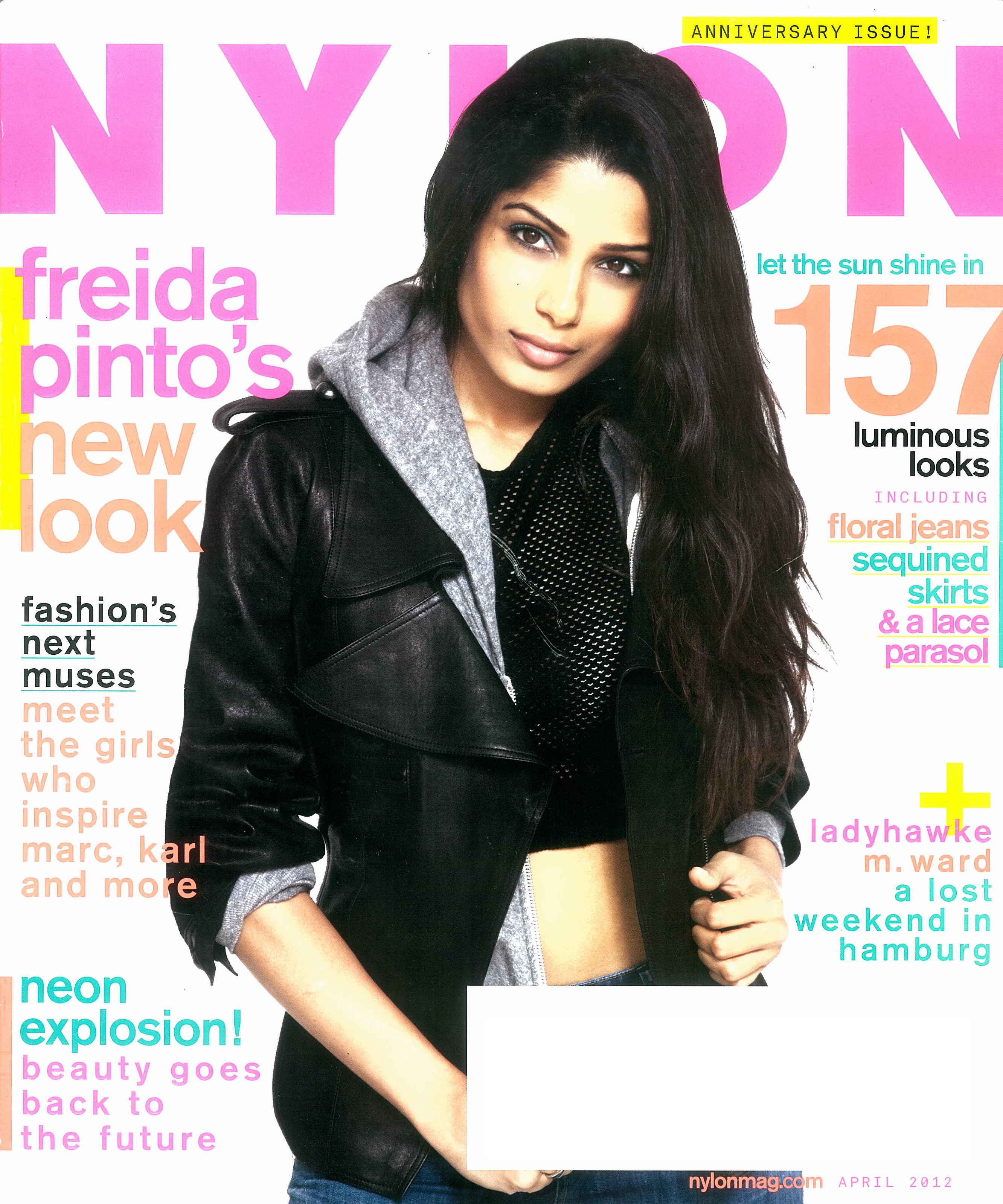 NYLON (APRIL) COVER